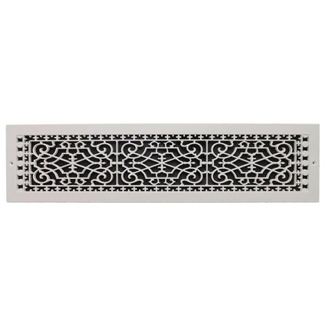 Decorative Return Air Grill by Decor Grates 6 In X 14 In Steel Cold Air Return Grille