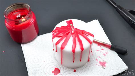 Diy Bloody Candles by Diy Bloody Candles Make A Gory Prop