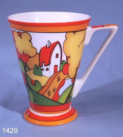 Art Deco Clarice Cliff Style Mug By Past Times ? SOLD: Collectable China