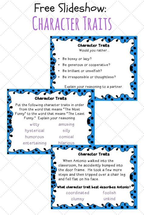 character education themes elementary the 25 best teaching character traits ideas on pinterest