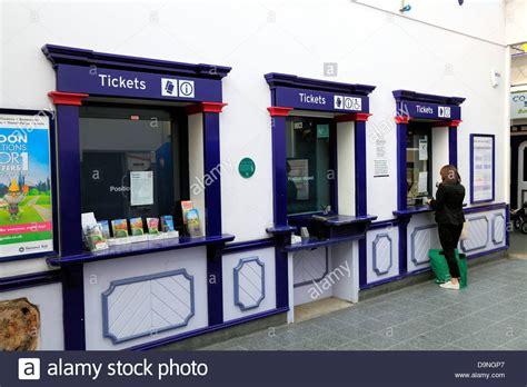 Ticket Office by Railway Station Norfolk Uk
