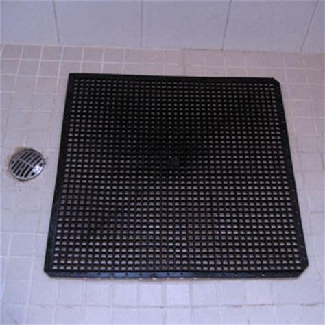 Walk In Shower Mat by Pvc Shower Mat Self Draining Safety Flooring Tuff Floors