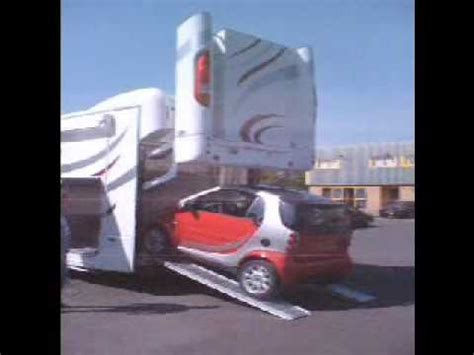 Rv With Smart Car Garage by Rs Motorhome Hydraulic Lift Up Back Door With Smart Car