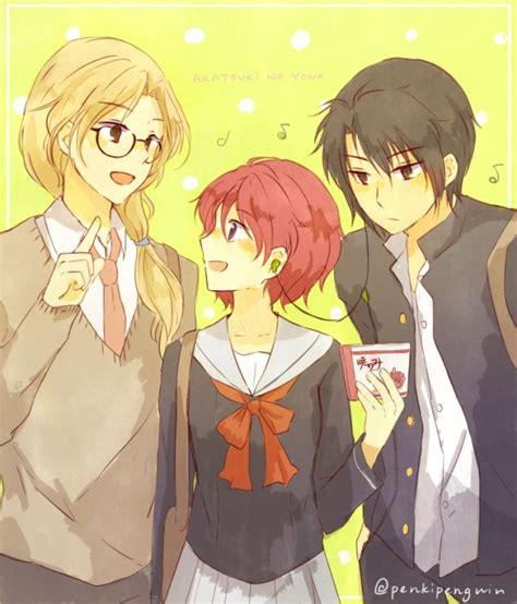 Headphone Akatsuki Anime akatsuki no yona there headphones squeeeeee this ship will kill me mangas read