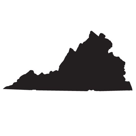 different shape virginia pics state of virginia clipart