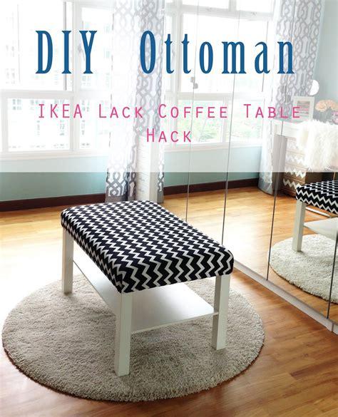 ikea diy home style organize diy ottoman ikea lack coffee