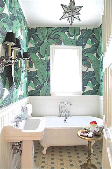 30 gorgeous wallpapered bathrooms 17 times that wallpaper in a bathroom stole the show