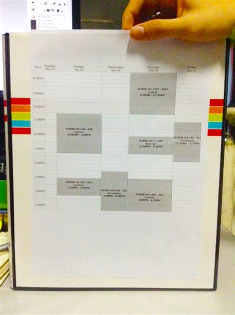 organization pattern of college of nursing how to make a nursing binder to keep your notes organized