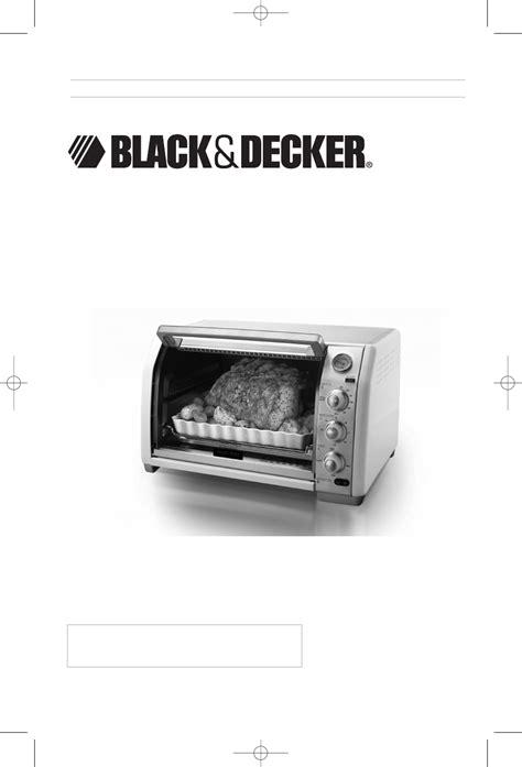 decker series black decker convection oven cto100 series user guide