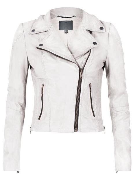 white leather motorcycle jacket muubaa indus tan leather biker jacket