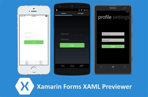 update layout xaml xamarin forms xaml previewer demo
