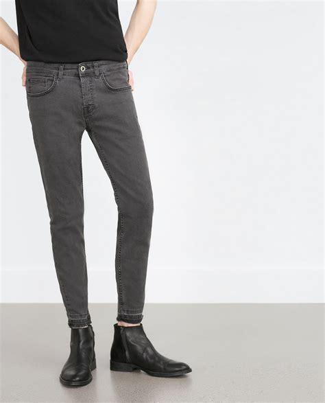 fashion grey mens grey skinny jeans bbg clothing