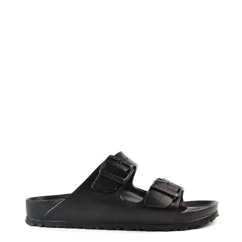 rubber birkenstock sandals birkenstock arizona black rubber two sandal