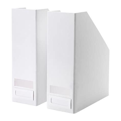 Ikea Tjena Kotak Kompartemen Putih tjena fail majalah putih ikea