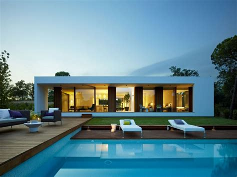modern interior design  small houses small villa floor