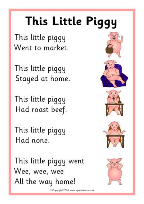 printable children s rhymes this little piggy rhyme sheet sb11044 sparklebox