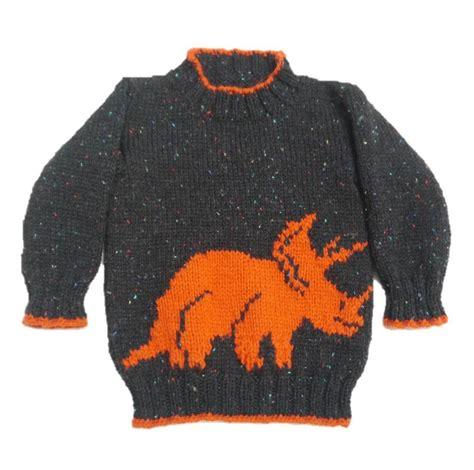 free knit pattern dinosaur sweater dinosaur sweater by iknitdesigns knitting pattern