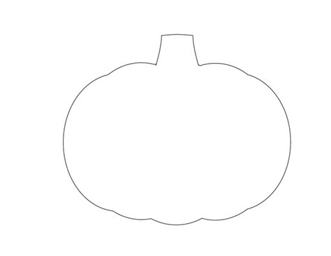 small template to print 5 best images of printable pumpkin templates pumpkin