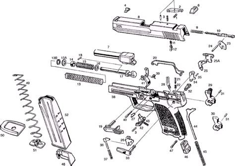 walther p22 parts diagram walther p22 parts schematic aftermath gun club h k usp
