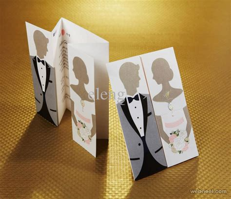 best wedding card designs 25 creative and wedding invitation card design ideas