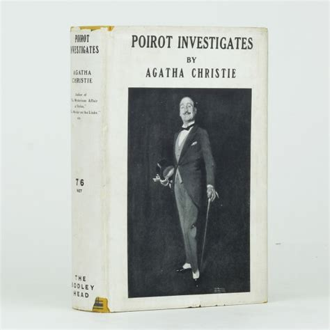 poirot investigates poirot poirot investigates by christie agatha jonkers rare books
