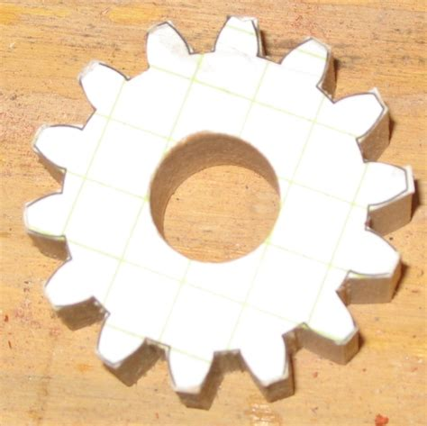 wooden gears template the dale maley family web site wood clutch model
