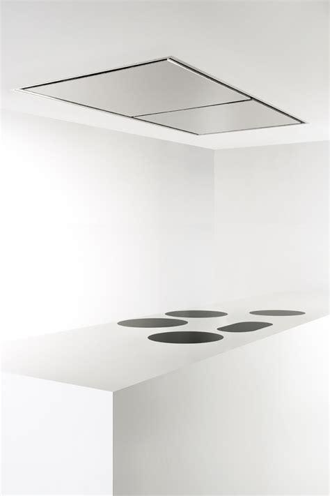 cappa a soffitto cappa a soffitto in acciaio inox ad incasso 855 maxi