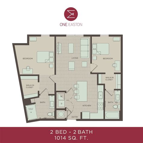 Udel Housing Floor Plans Floor Plans One Easton Student Apartments Near Udel