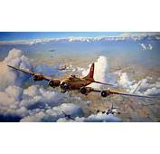 17 Flying Fortress Artwork WW II Wallpaper  ForWallpapercom