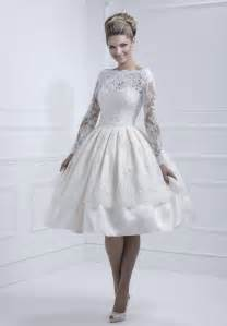 tea length wedding dresses vintage lace sleeves wedding dresses with tea length sang maestro