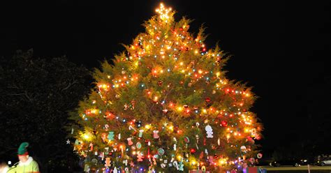 christmas tree lights gasses specs fort rucker lights up season article the united states army