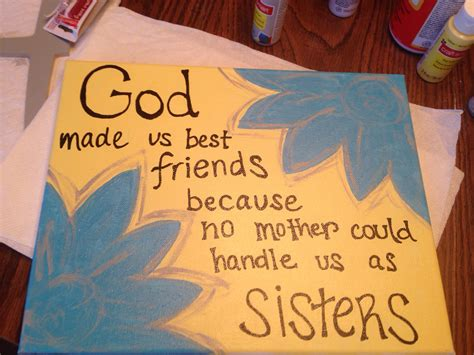 Handmade Gifts For Best Friends - best friend diy canvas college ideas diy