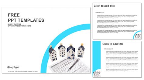 ppt templates for loan house with mortgage loan ppt templates