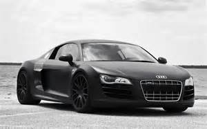 Audi R8 Matte Black » Home Design 2017