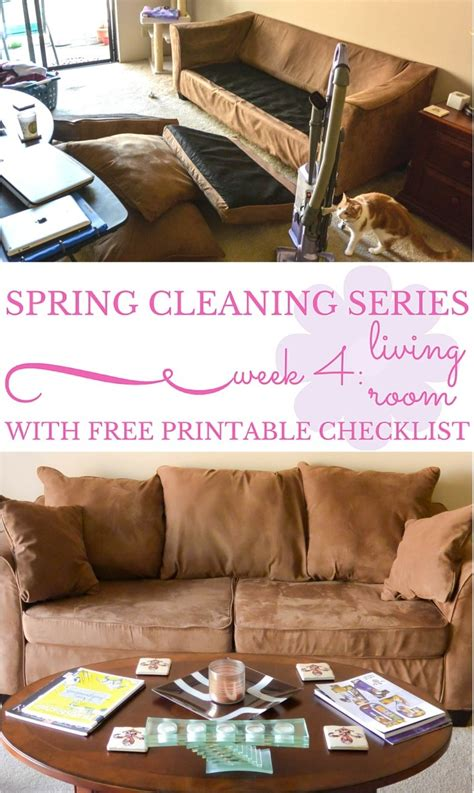a beautifully organized living room just a girl and her blog spring cleaning series week 4 living room
