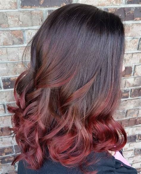how to do medium length ombre hair 40 vivid ideas for black ombre hair