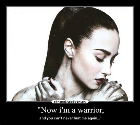 demi lovato warrior tradução quot now i m a warrior desmotivaciones