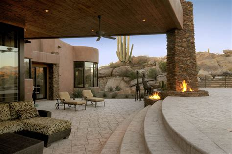southwestern patio design ideas remodels southwest contemporary 645