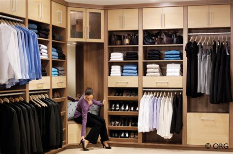 His And Hers Walk In Closet Designs by Two Tone Custom His And Hers Walk In Closet