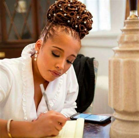 Wedding Hairstyles For Locs by 572 Best Images About Wedding Hairstyles Locs Braids