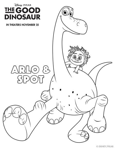 Dinosaur Family Coloring Page | disney pixar s the good dinosaur printables to make your