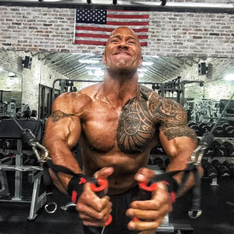 the rock s arm tattoo in faster the rock and vin diesel furiously jacked photo 15