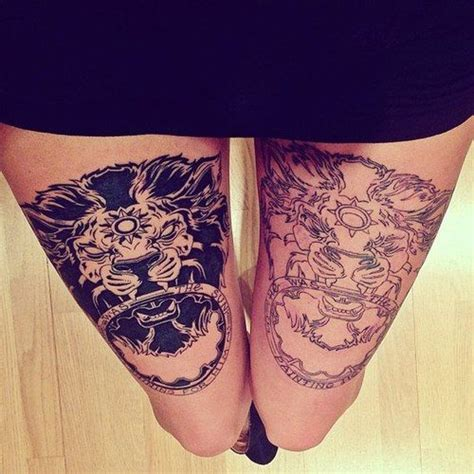 20 thigh tattoo designs for every woman pretty designs