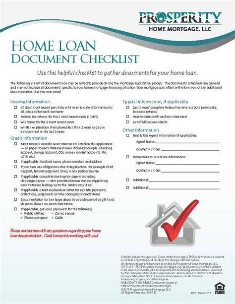 Mortgage Check Up Letter Home Loan Document Checklist Letters Of Explanation For