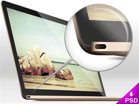 todays freebie   sleek macbook air mockup
