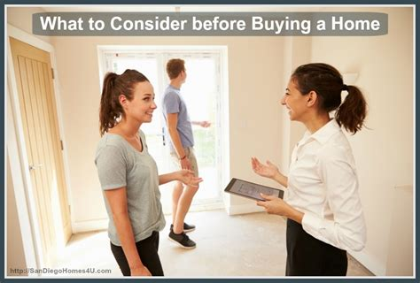 what to consider before buying a home realty times