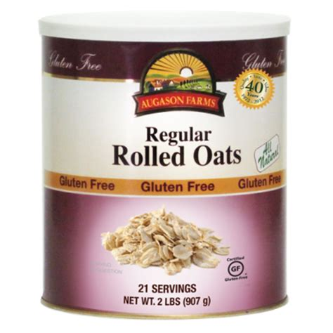 Shelf Of Rolled Oats by Term Storage Rolled Oats Term Storage