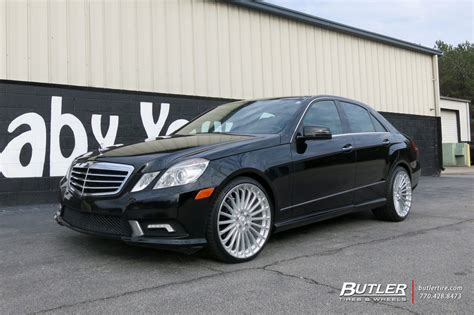 mercedes  class   tsw turbina wheels exclusively  butler tires  wheels