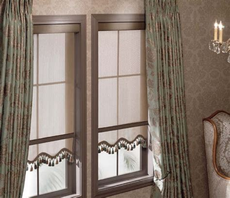 Pull Down Window Blinds Layer Your Look With Customized Pull Down Shades And