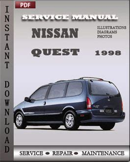 online service manuals 1999 nissan quest electronic valve timing nissan quest 1998 service manual pdf download servicerepairmanualdownload com
